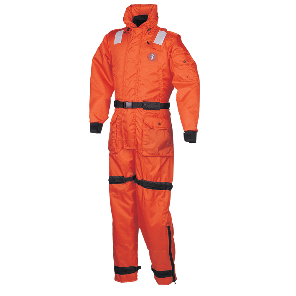 Mustang Deluxe Anti-Exposure Coverall Worksuit - XL - Orange