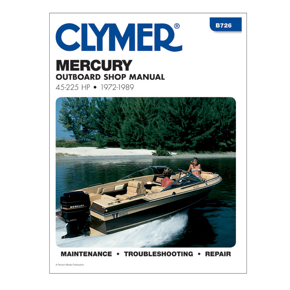 Clymer Mercury 45-225 HP Outboards (1972-1989)