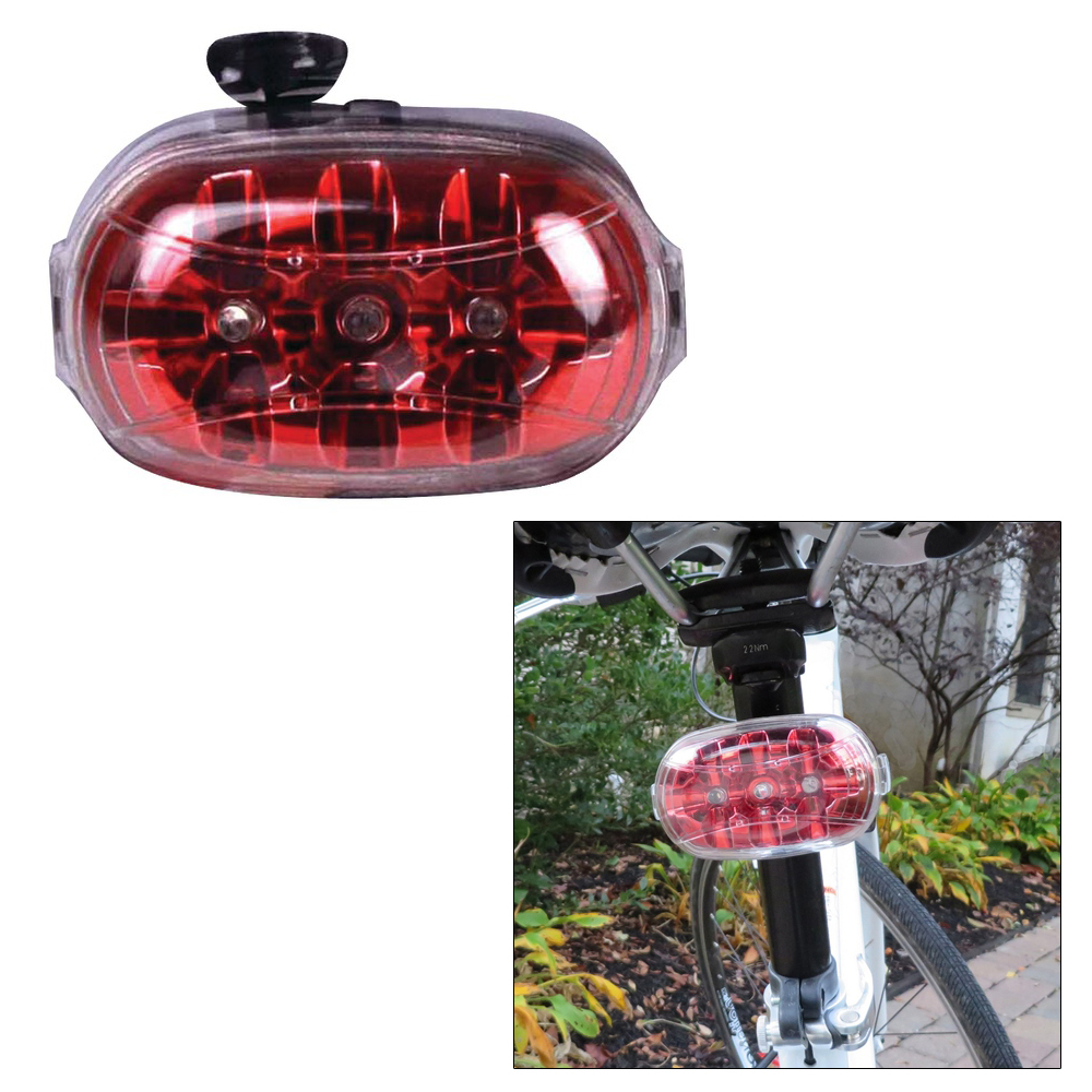 Dorcy 2AA LED Portable Bicycle Tail