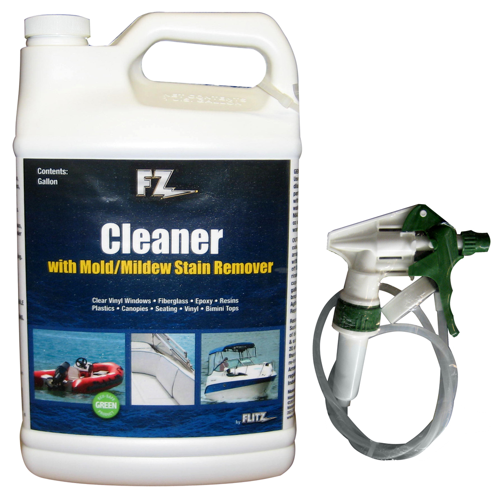 Rv Cleaning Tools : Flitz marine rv cleaner w mold mildew stain