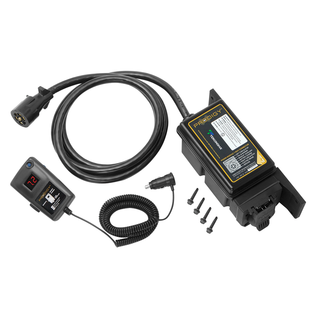 Buy Curt Trailer Brake Controller Wiring Circuit Tester C51498 Tconnector Vehicle Harness With 4pole Flat 1152359 90250 15year