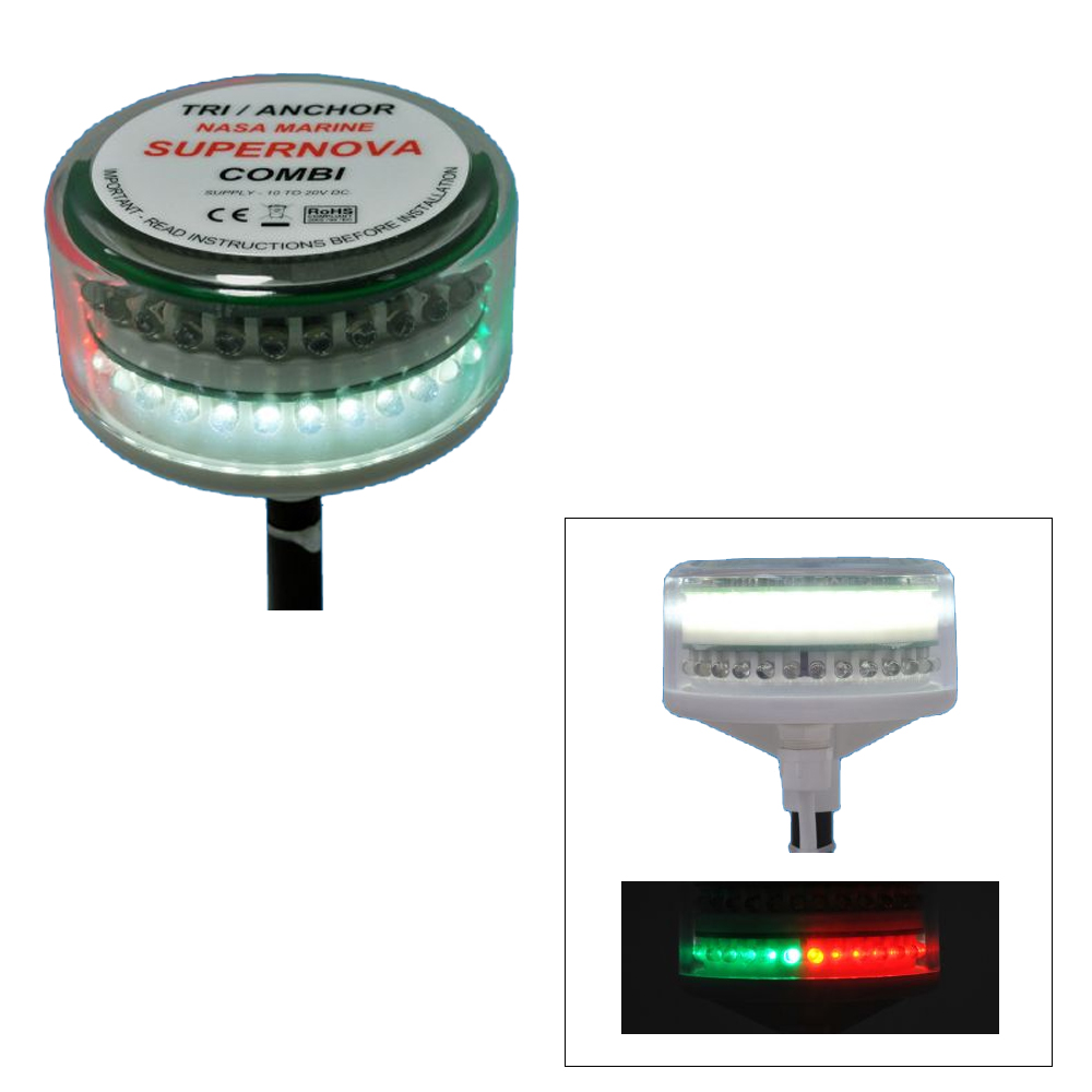 Clipper Clipper Supernova Tricolour Navigation Light 11