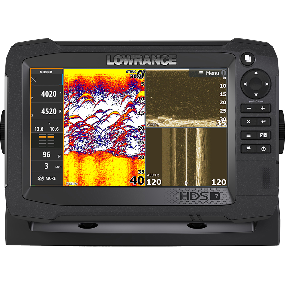 lowrance lowrance hds 7 carbon mfd with c map insight no transducer 11 63491. Black Bedroom Furniture Sets. Home Design Ideas