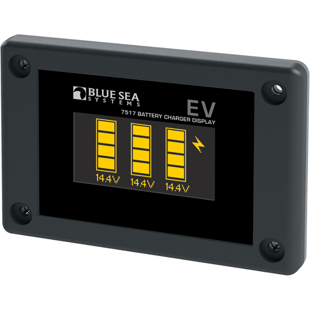 Battery Charge Monitor : Blue sea systems p battery charger