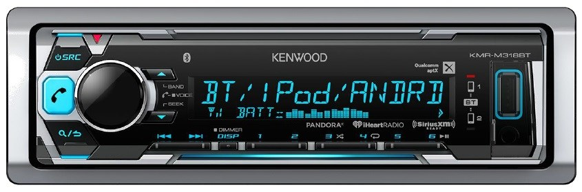 Kenwood KMR-M318BT AM/FM With Bluetooth