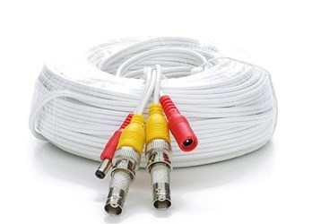 100 RG59 Siamese Cable Bnc Males And Power Leads