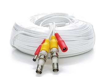 25 RG59 Siamese Cable Bnc Males And Power Leads