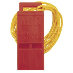 "ACR Survival Res-Q™ Whistle w/18"" Lanyard"
