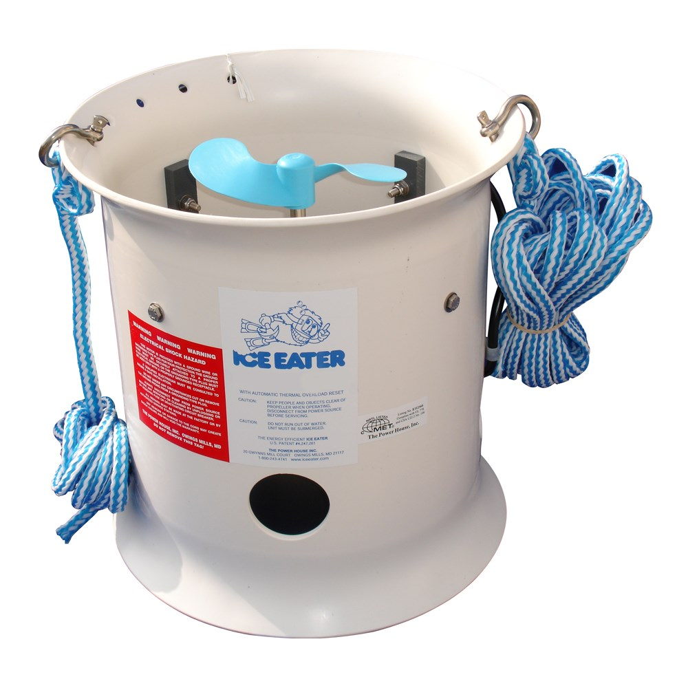 Powerhouse 1HP Ice Eater w/25' Cord - 115V
