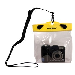 "Dry Pak Camera Case - 6"" x 5"" x 1-1/2"" - Clear"