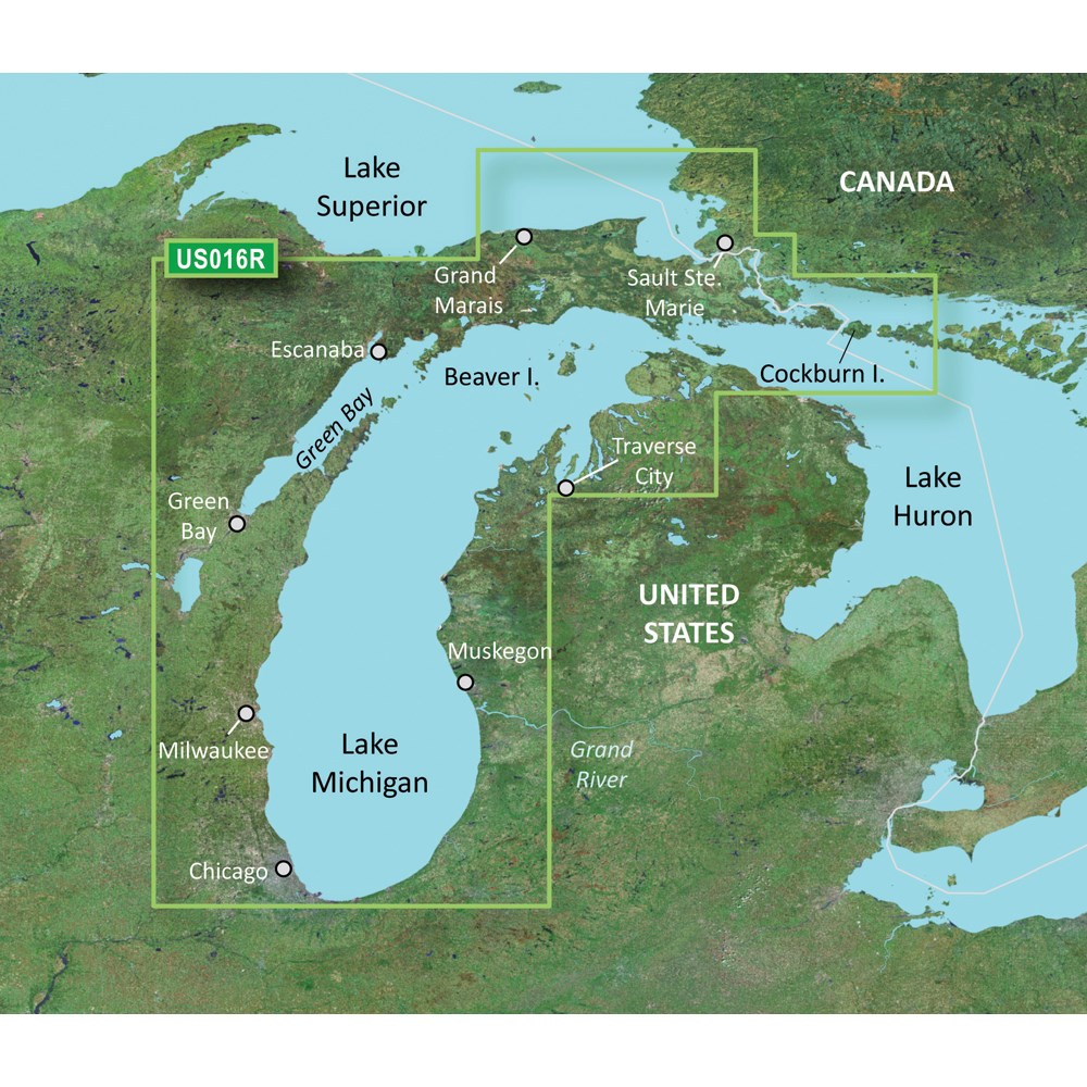 Garmin BlueChart® g2 Vision® - VUS016R - Lake Michigan - microSD™/SD™