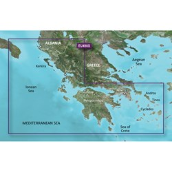 Garmin BlueChart® g3 Vision® HD - VEU490S - Greece West Coast & Athens - microSD™/SD™