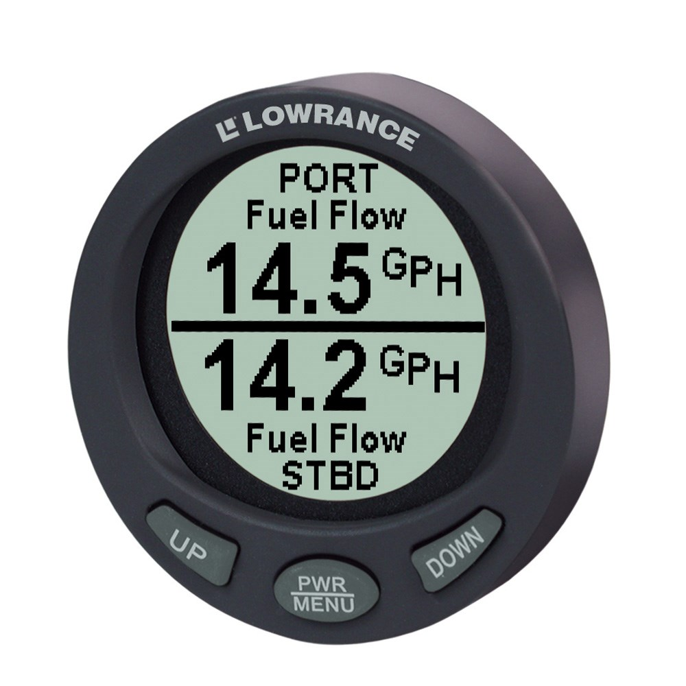 Lowrance LMF-200 Compact Multi - Function Gauge w/out Sensor