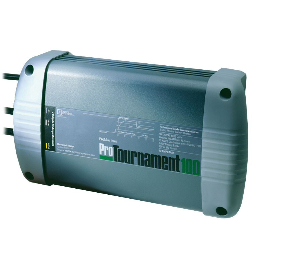 ProMariner ProTournament 100 - 10 Amp - 2 Bank - 12/24 Volt