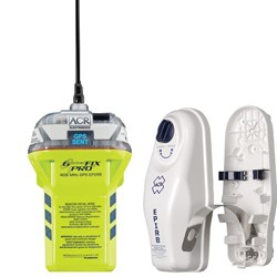 ACR Globalfix™ iPRO 406 MHz GPS EPIRB - Category 1