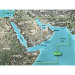 Garmin BlueChart® g2 HD - HAW005R - The Gulf & Red Sea - microSD™/SD™