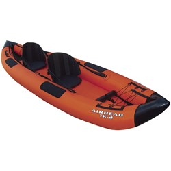 AIRHEAD Montana Travel Kayak Deluxe 12%27 2 Person Inflatable Kayak