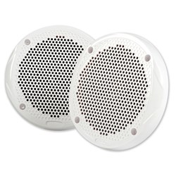 "FUSION 6.5"" 2-Way Speakers - 200W - (Pair) White"