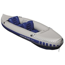 "AIRHEAD 2 Person Recreational Travel Kayak - 10 3"" w/2 Seats"