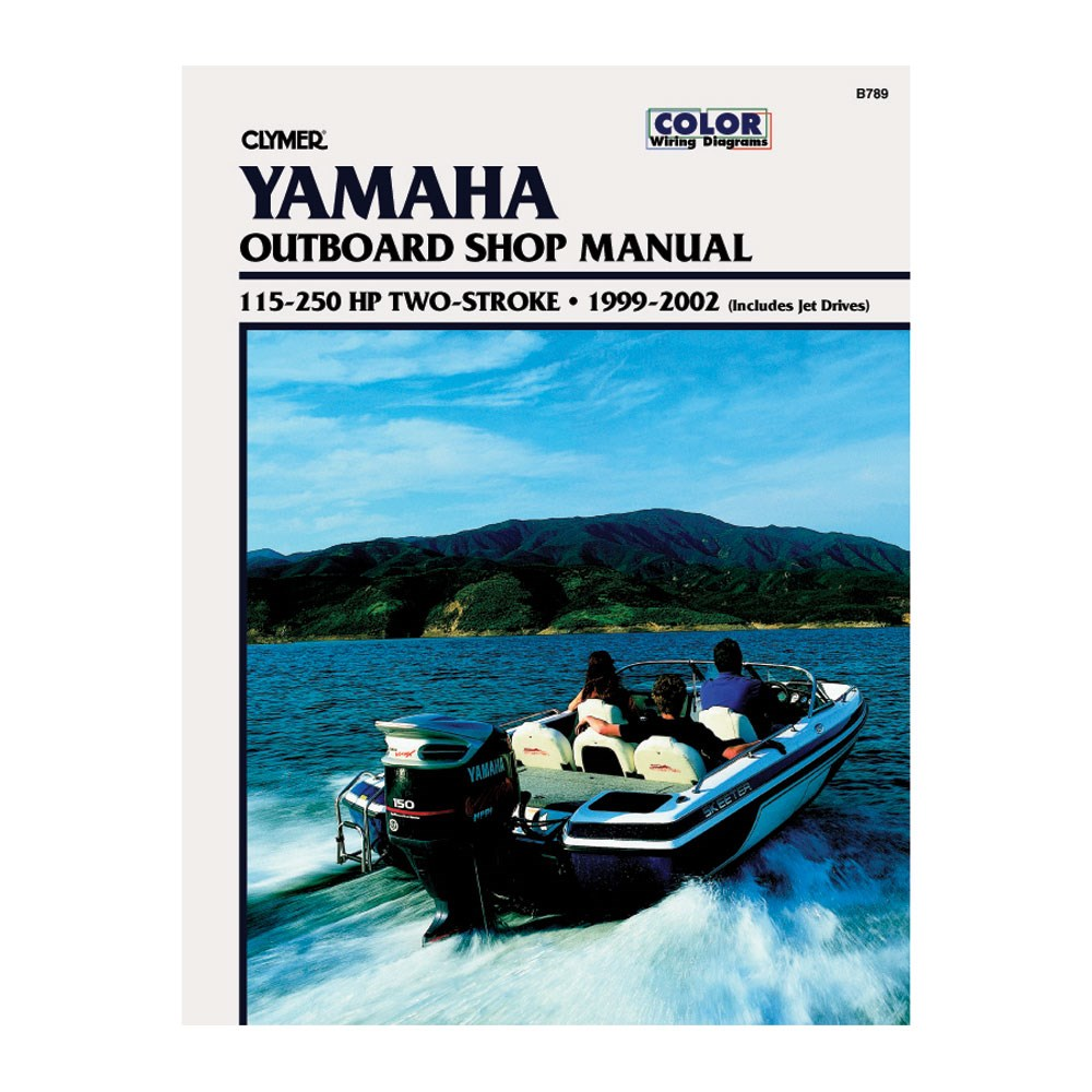 CLYMER YAMAHA 225 HP 3.1L OUTBOARD TWO STROKE SERVICE REPAIR MANUAL 1999-2002
