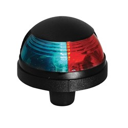 Attwood Pulsar™ 1-Mile Deck Mount, Bi-Color Red/Green Combo - 12V - Black Housing