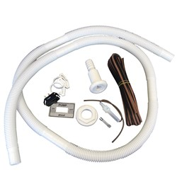 "Attwood Bilge Pump Installation Kit w/Switch, 3/4"" Hose Clamps & 20%27 Wire Fuse Holder"