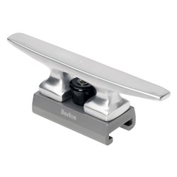 "Barton Marine - 175mm (6.89"") Aluminum Sliding Cleat Fits 32mm (1.26"") T Track"