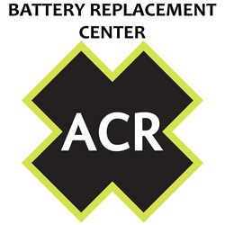ACR FBRS 2797NH & 2798NH Battery Replacement Service - PLB200/201 AquaFix/TerraFix