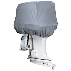 Attwood Silver Coat Polyester Cover f/Outboard Motor Hood 25-50HP