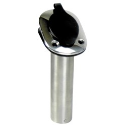 Whitecap 30° Flush Mount Rod Holder - 304 Stainless Steel - 9-1/4""