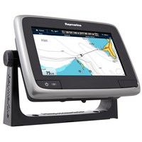 "Raymarine a75 Wi-Fi 7"" MFD Touchscreen - Lighthouse Navigation Charts - NOAA Vector"