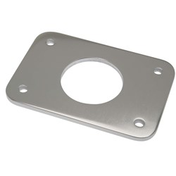 "Rupp Top Gun Backing Plate w/2.4"" Hole - Sold Individually, 2 Required"