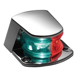 Attwood Bi-Color Combination Sidelight - 12V - Chrome Plated Zamak