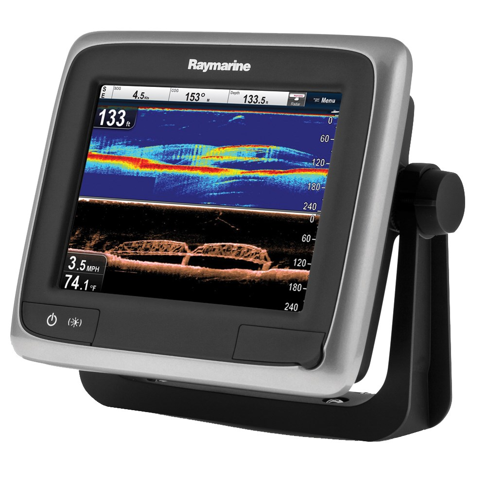 "Raymarine a68 5.7"" MFD w/WiFi & Built-In CHIRP DownVision™ - NOAA Vector Chart - No Transducer"