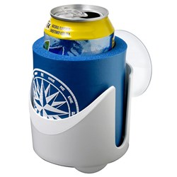 Attwood Drink Holder w/Can Cooler - Red