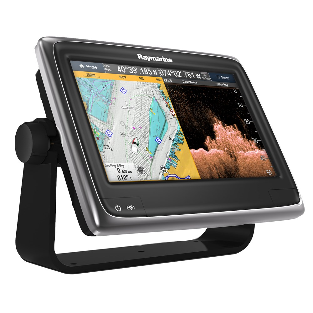 "Raymarine a98 9"" MFD Combo w/Wi-Fi, Bluetooth & CHIRP DownVision™ - US LNC Vector Charts"