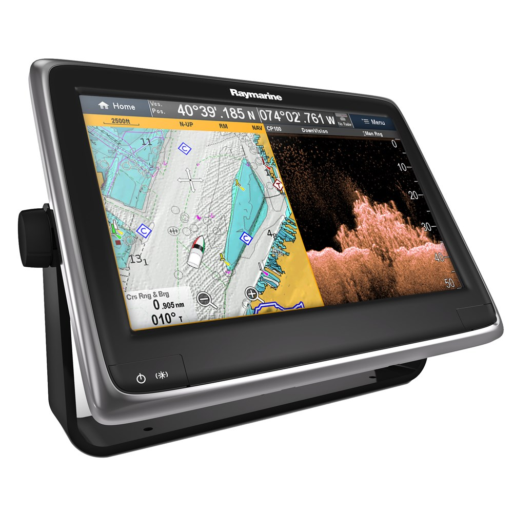 "Raymarine a128 12.1"" MFD Combo w/Wi-Fi, Bluetooth & CHIRP DownVision™ - US LNC Vector Charts"
