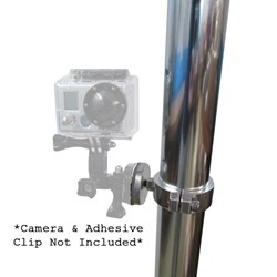 Rupp GoPro Clamp Mount f/GoPro Camera - Tube OD 2.175""