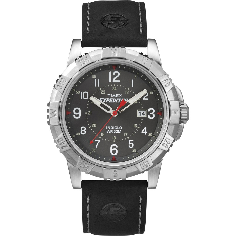 Timex Expedition Rugged Metal Field Watch Black