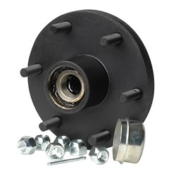 "C.E. Smith Trailer Hub Kit - Tapered Spindle - 6x5.5"" Stud - 1,750lb Capacity"