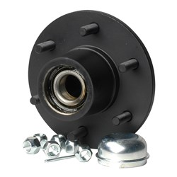 "C.E. Smith Trailer Hub Kit - Tapered Spindle - 6x5.5"" Stud - 3,000lb Capacity"