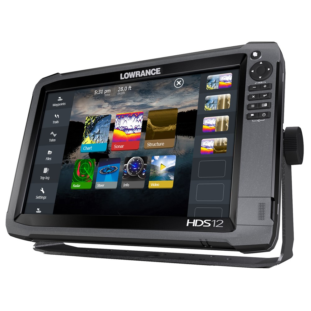 Lowrance Hds 12 Gen3 Insight Usa 83 200 Khz Transom Mount Sonichub Wiring Diagram Transducer And Structurescan 11 54220