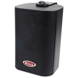 "Boss Audio MR4.3B 4"" 3-Way Marine Box Speakers (Pair) - 200W - Black"
