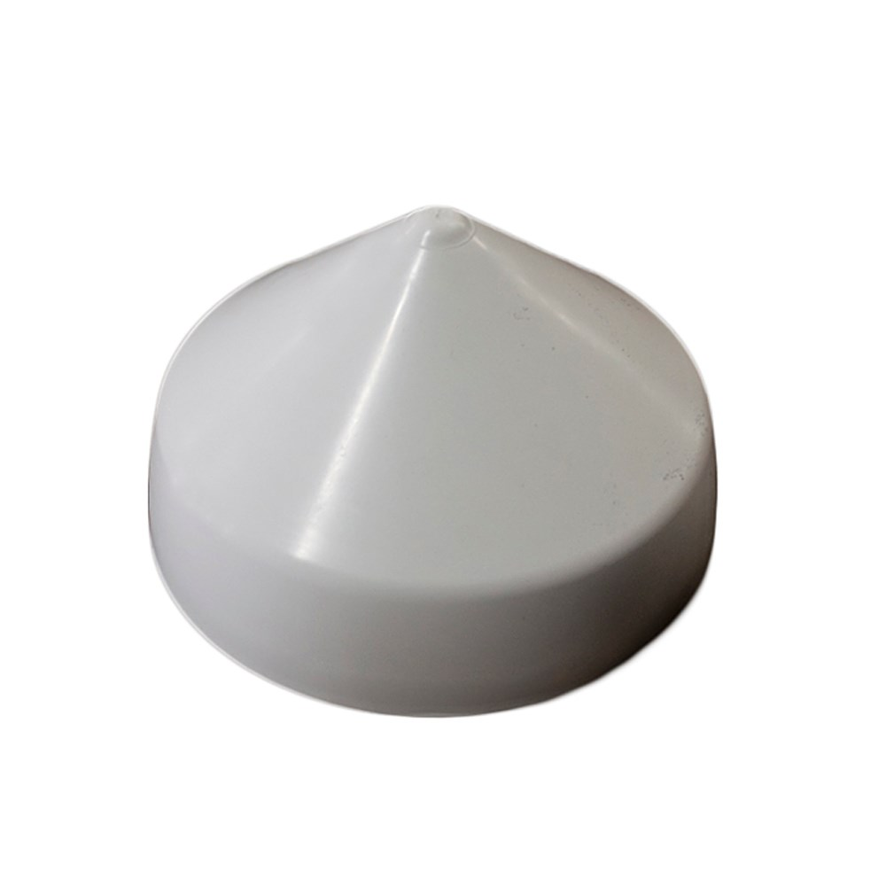 Monarch White Cone Piling Cap - 6""