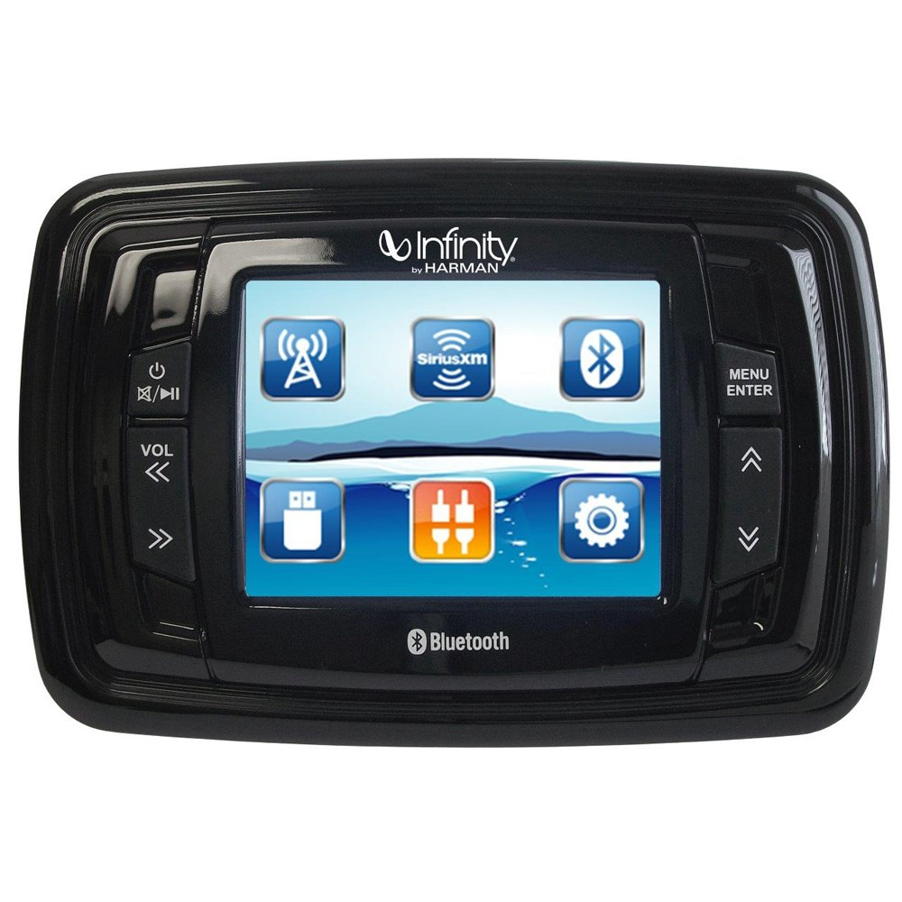 "Infinity PRV350 3.5"" Color TFT Screen - 4x50 AM/FM/BT/USB/AUX in/3 x PRE-OUTS/SiriusXM-Ready Stereo"