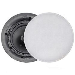 FUSION MS-CL602 Flush Mount Interior Ceiling Speakers (Pair) White