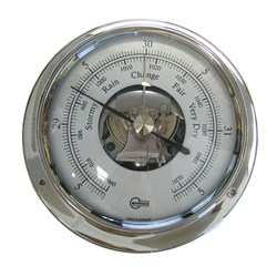 "BARIGO Sky Series Ships Barometer - Stainless Steel Housing - 3.3"" Dial - US Version"