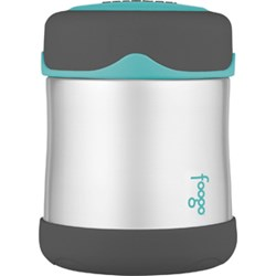 Thermos Foogo® Stainless Steel, Vacuum Insulated Food Jar - Teal/Smoke - 10 oz.