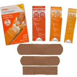 Adventure Medical Easy Access Bandages™ - Fabric - Assorted Pack - 30 Count