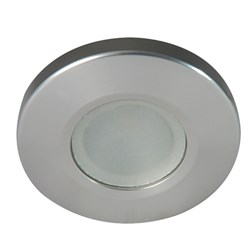 Lumitec Orbit Spetrum Flush Mount Down Light - Brushed Housing - White Dimming & Red/Blue Non-Dimming